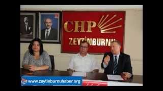 Salih Zeki Durmuşoğlu Zeytinburnu Belediye Başkanlığına Aday Olduğunu Açıkladı