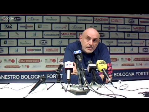 Fortitudo, le parole di Boniciolli post match Bergamo