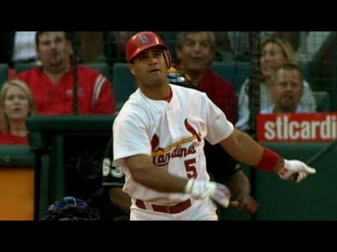 Video: Pujols homers twice against Dodgers
