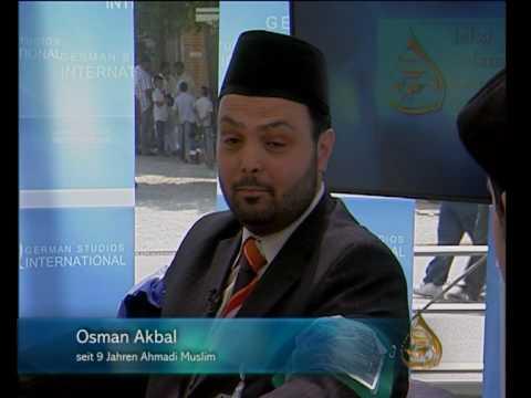 Erlebnisse von konvertierten Muslimen auf der Jalsa Salana Germany 2010 2/4