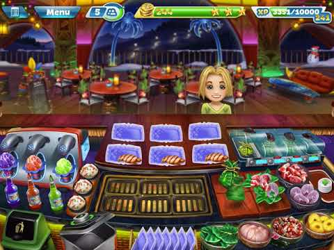 Cooking Fever - Aloha Bistro - Levels 1-4