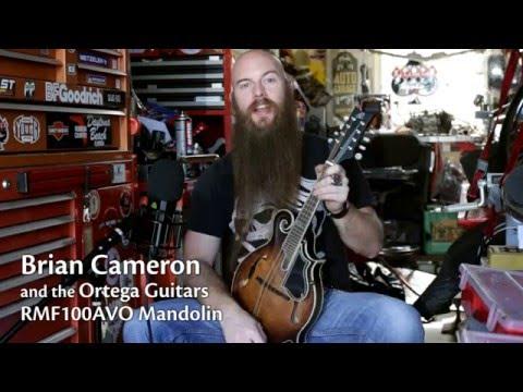 Brian Cameron first impressions Ortega Guitars RMF100AVO Mandolin