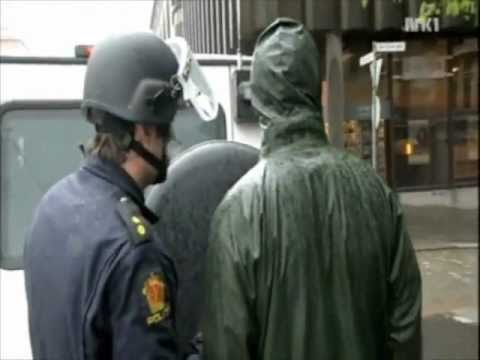 NRK1 News Report: Bank Robbery In Norway Turned Out To Be A Movie Production