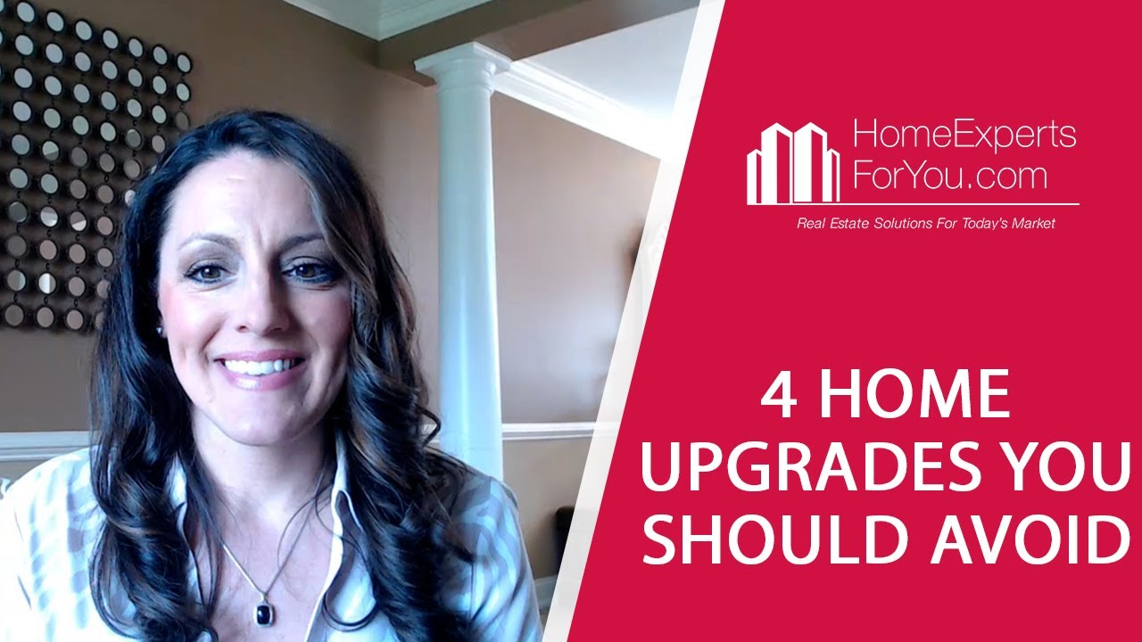 Avoid These Upgrades Before Selling