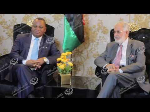 لجنة رفيعة المستوى للاتحاد الإفريقي تصل طرابلس