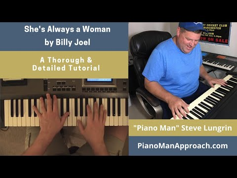 She's Always A Woman (Billy Joel), Free Tutorial!