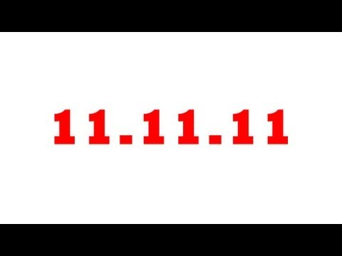 11 - Numberphile video about number 11, marking the last binary day of a generation: 11.11.11. Exploring barcodes, check digits and CD technology. Filmed at the h...