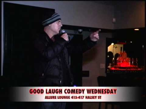 Ray Lipowski @ Good Laugh Comedy Wednesday -ALLURE LOUNGE