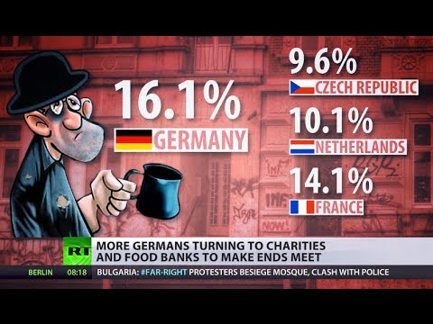 'When need is stronger than shame': Charities are last hope for more Germans