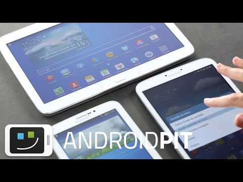 Samsung Galaxy Tab 3 7.0, 8.08 y 10.1 en vídeo Hands-on | AndroidPIT