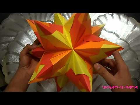 Polar origami videos videos relacionados con polar origami - Origami de una estrella ...