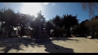 Punta Arenas Chile  city photos gallery : City tour Punta Arenas, Chile in Bike and GoPro