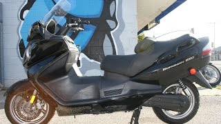 10. 2009 Suzuki Burgman 650 Scooter For Sale...ONLY 4883 miles!!