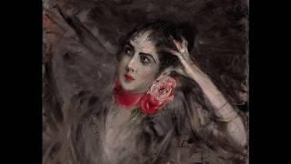 """Rassegna di opere di Giovanni Boldini accompagnate da un brano tratto dall'operetta """"Orfeo all'inferno"""" (Orphée aux Enfers) di..."""