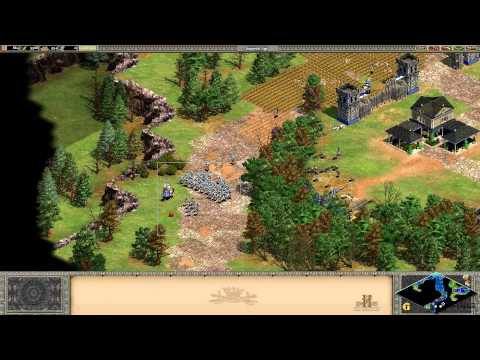 Age of Empires 2 II HD геймплей