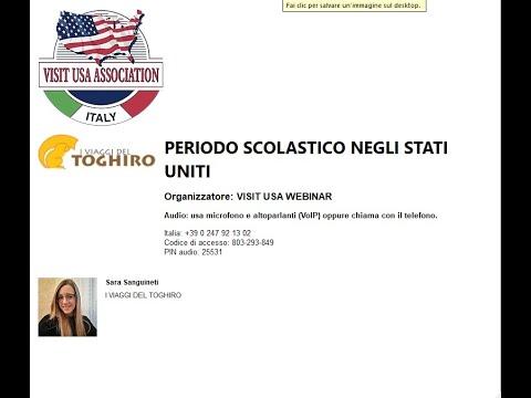 Video PERIODO SCOLASTICO NEGLI STATI UNITI (30-10-2020)