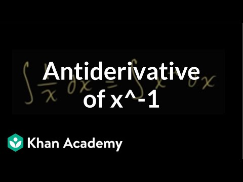 Indefinite Integral Of 1 X Antiderivative Of 1 X Video Khan