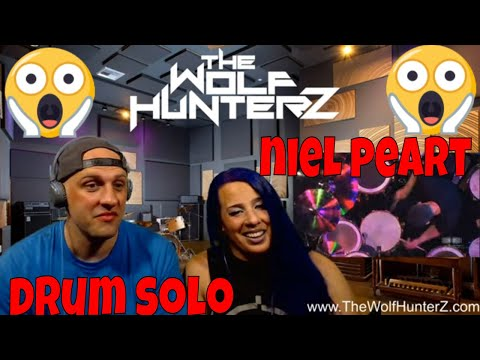 Neil Peart Drum Solo - Rush Live in Frankfurt | THE WOLF HUNTERZ Reactions