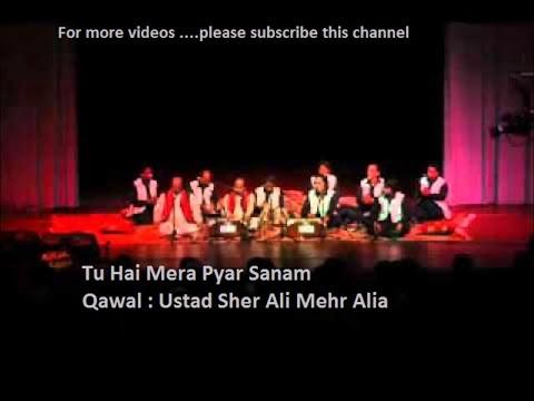 Video Tu Hai Mera Pyar Sanam by Ustad Sher Ali and Mehr Ali download in MP3, 3GP, MP4, WEBM, AVI, FLV January 2017