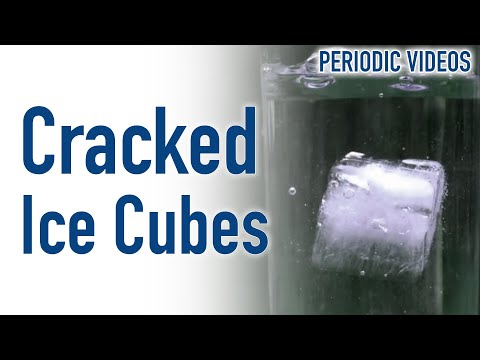 Why Do Ice Cubes Crack In Drinks
