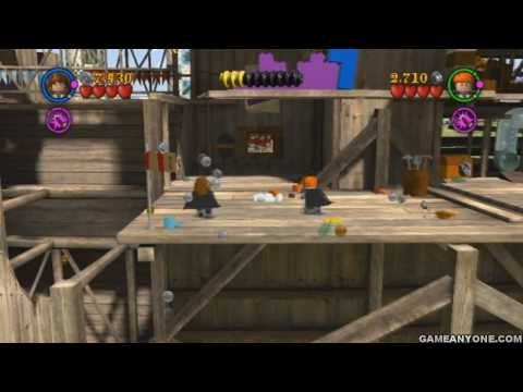 Lego Harry Potter: Years 1-4 Wii Co-Op - Part 09 - [A Jinxed Broom 3/3]