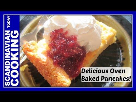 Finnish Pancakes – Pannukkau — Sooo good!