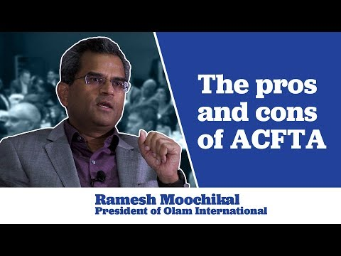 Ramesh on the Pros and Cons of ACFTA