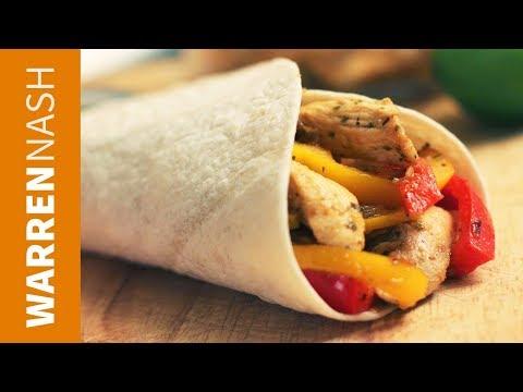 Chicken Fajitas Recipe – Mexican classic – Recipes by Warren Nash