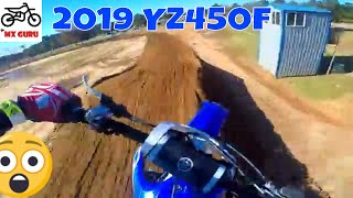 6. FINALLY Test Riding the 2019 YAMAHA YZ450f on the sand sx track | GTR Complex | Yamaha Demo Day