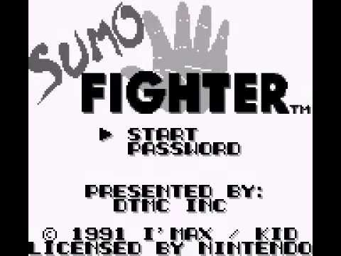 Sumo Fighter Game Boy