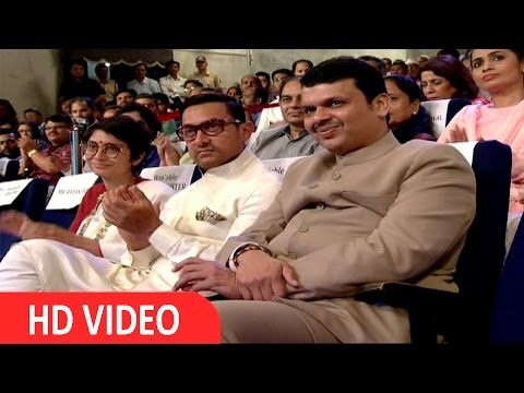 Aamir Khan At The Satyamev Jayate Water Cup Awards 2016