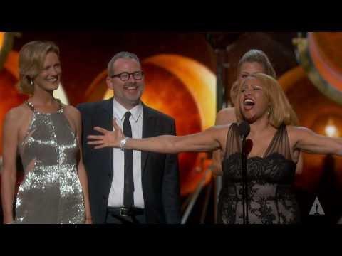"""20 Feet from Stardom"" winning Best Documentary Feature"
