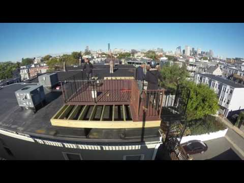 Southie - W 6th St Roof Deck GoPro Timelapse