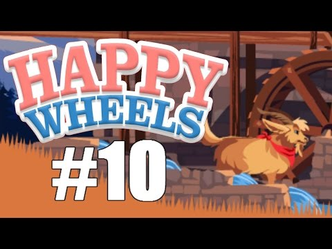 GOODWIN THE GOAT | Happy Wheels #10