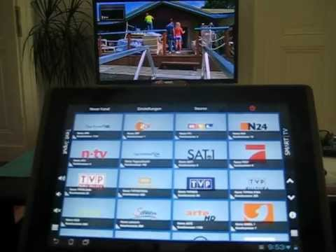Video of Smart TV Remote Tab