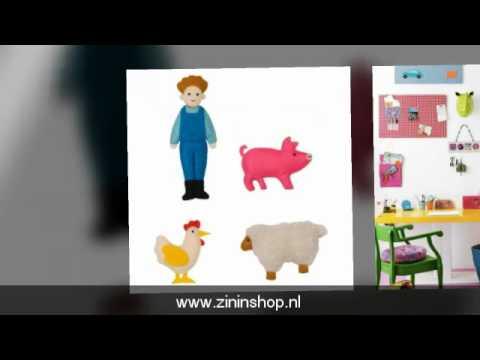 Interieur video, kleurrijke kinderkamer