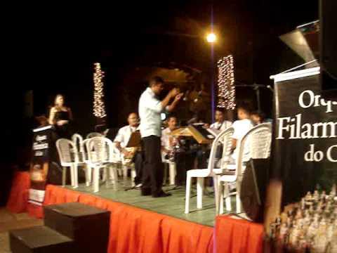 Banda de Musica de Palmacia na V Cantata Natalina de Pacoti