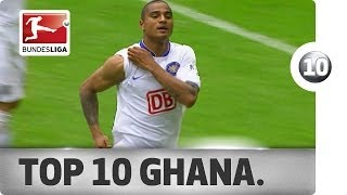 ► Sub now: http://redirect.bundesliga.com/_bwBd Germany's next World Cup group stage opponents are Ghana. The Bundesliga has a rich history with Ghanaian pla...