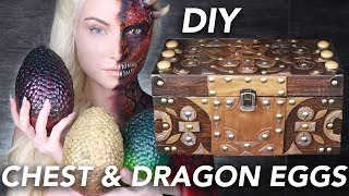 Making Daenerys Dragon Eggs & Chest | Game of Thrones by Madeyewlook