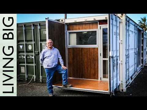 Video Boat Builder's Incredible 20ft Shipping Container Home download in MP3, 3GP, MP4, WEBM, AVI, FLV January 2017