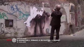 """Ernest Pignon Ernest est un formidable dessinateur, le précurseur du """"street art"""" à la fra"""