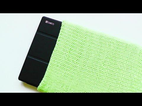 Tablet Wende-Sleeve stricken lernen für Linkshänder – © Woolpedia