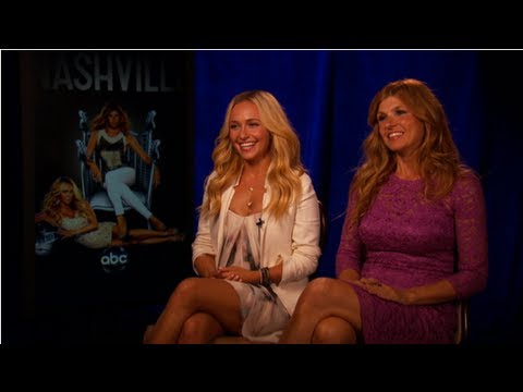 nashville - In ABC's new drama Nashville, Connie Britton and Hayden Panettiere play a pair of country singers who don't exactly get along right away; Juliette (Panettier...