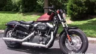 7. New 2014 Harley Davidson 1200 Sportster Forty Eight review 48