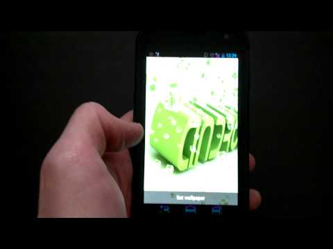 Video of Live Wallpaper - AnDroid Cubes
