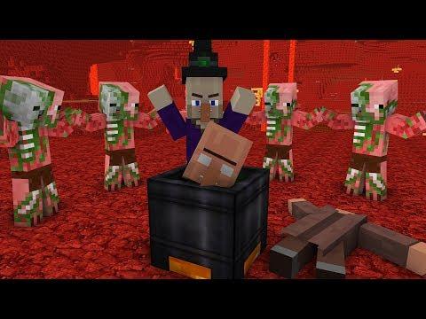 Minecraft Mobs Life  - Minecraft animation (видео)