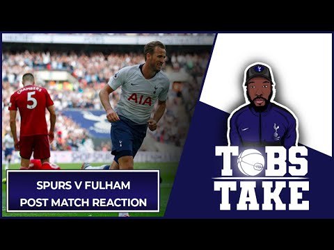 TOBS TAKE | SPURS V FULHAM POST MATCH REACTION W/ @JaikBFenton