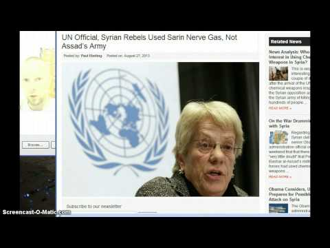 UN Says Rebels Used Nerve Gas! Large Explosion Rocks Damascus & Assad Flees to Iran! (Video)