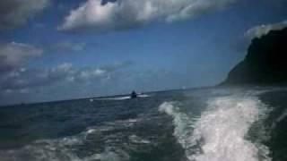 7. 2008 seadoo's GTX 215 and wake GTX 155 homeward bound.wmv