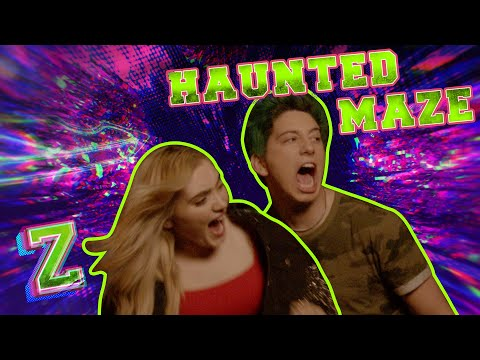 Meg and Milo Take on the Haunted Maze Challenge!🎃 | ZOMBIES 2 | Disney Channel